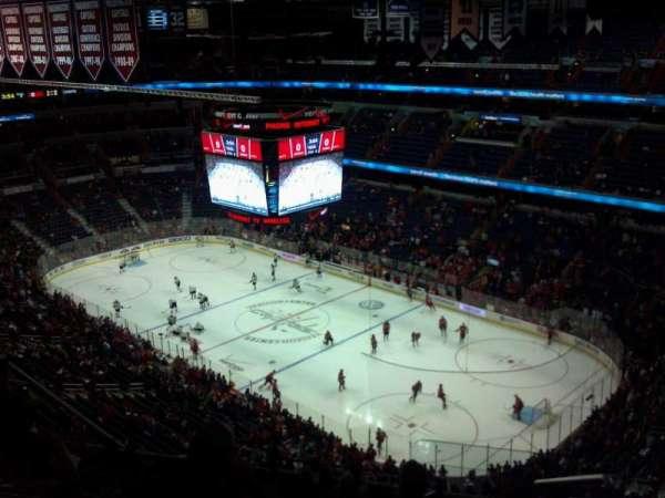 Capital One Arena, secção: 421, fila: N, lugar: 21