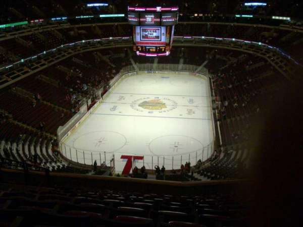 United Center, secção: 325, fila: 12, lugar: 14