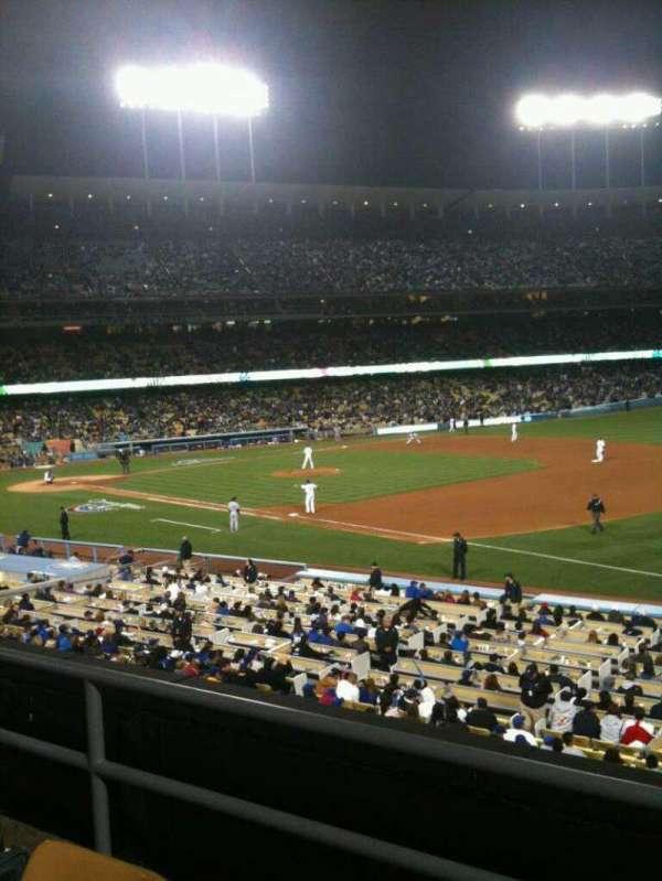 Dodger Stadium, secção: 150LG, fila: C, lugar: 2