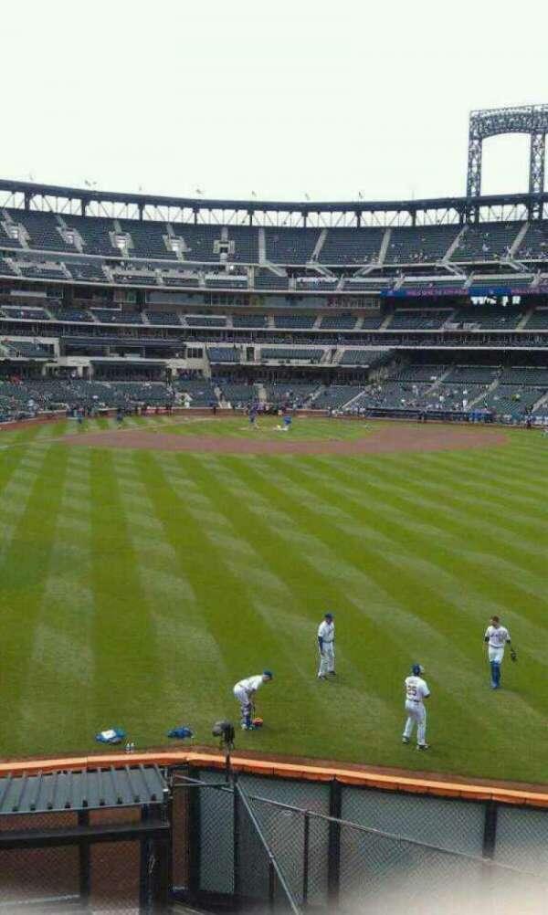 Citi Field, secção: Centerfield
