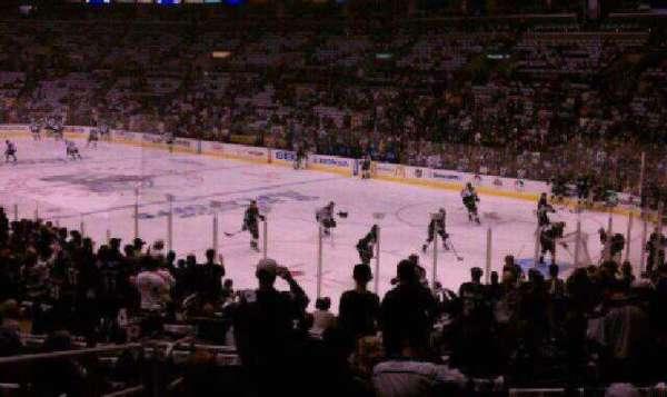 Staples Center, secção: 108, fila: 20, lugar: 14