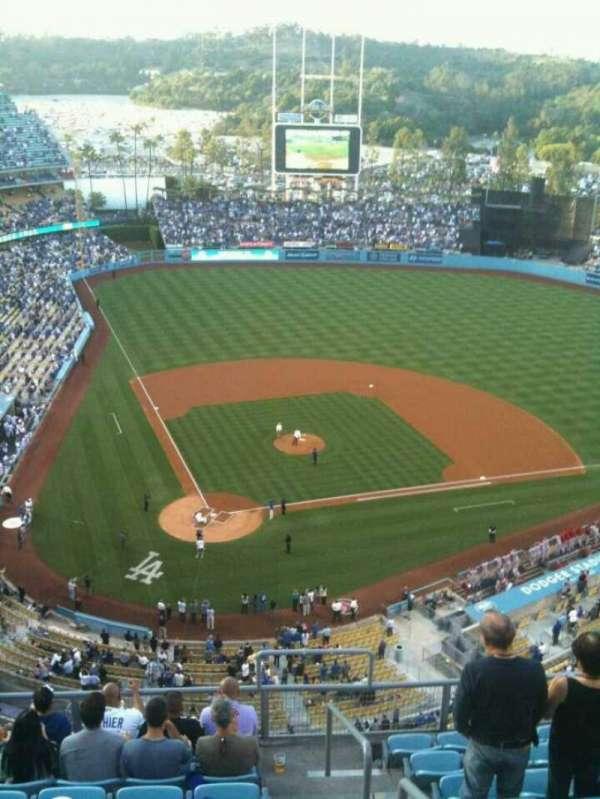 Dodger Stadium, secção: 6TD, fila: J, lugar: 22