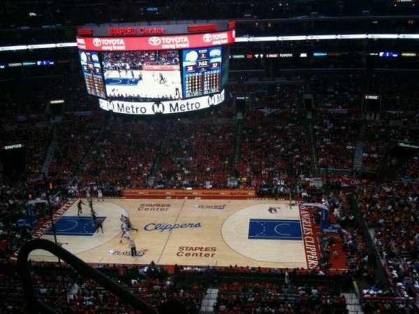 Staples Center, secção: 317, fila: 4, lugar: 10
