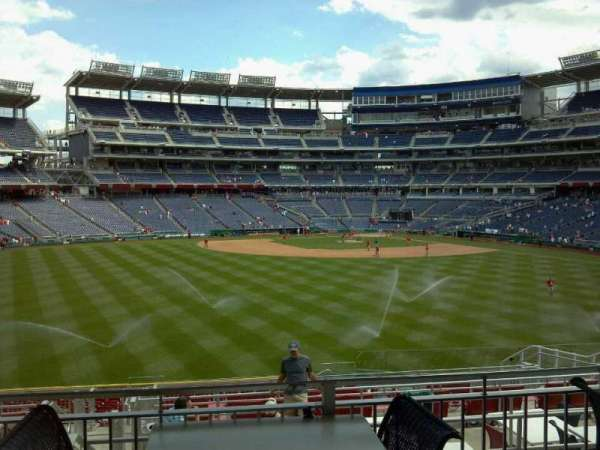 Nationals Park, secção: Inside Red Porch