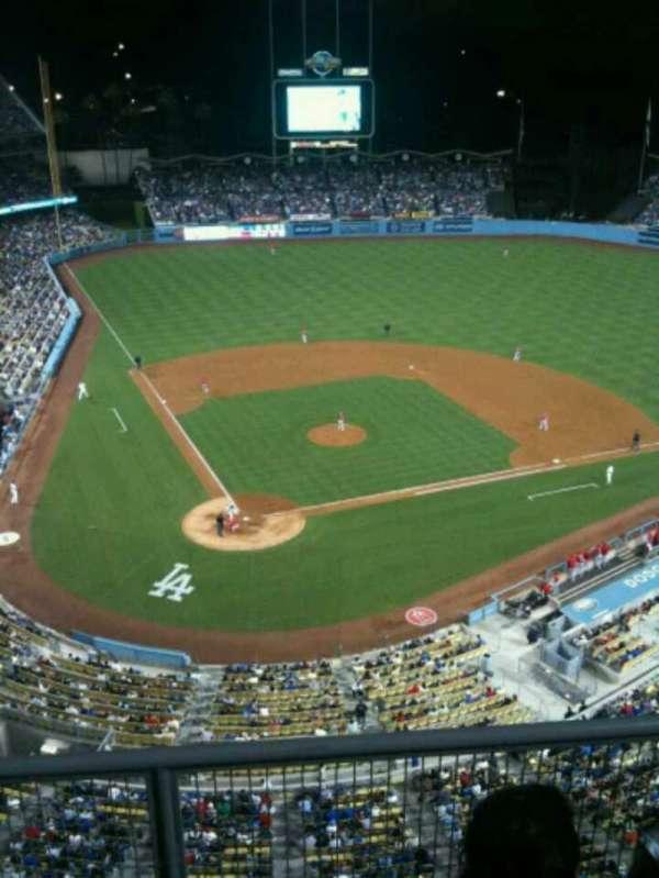 Dodger Stadium, secção: 6TD, fila: C, lugar: 14