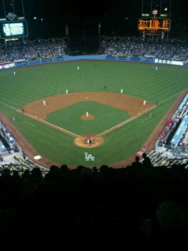 Dodger Stadium, secção: 1TD, fila: R, lugar: 12