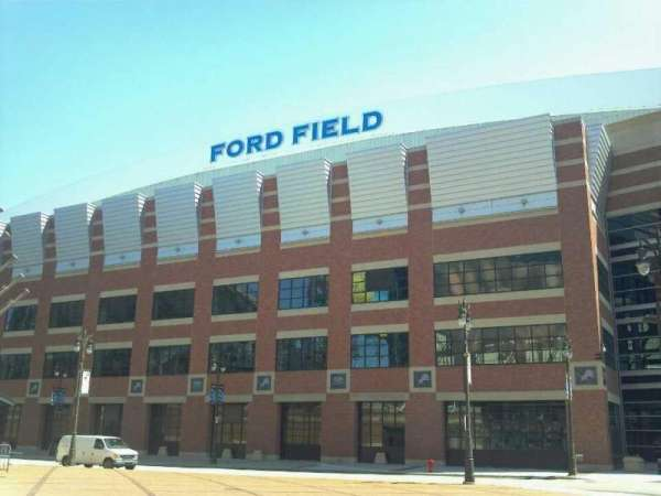 Ford Field, secção: Gate A