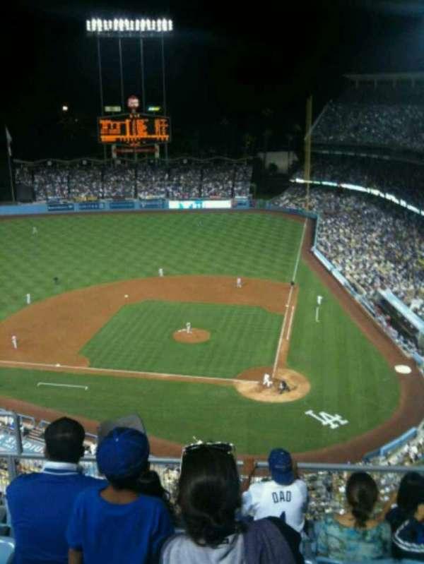Dodger Stadium, secção: 9TD, fila: F, lugar: 17