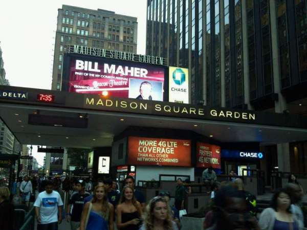 Madison Square Garden, secção: Main Entrance