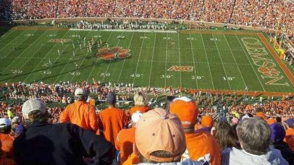 Memorial Stadium, Clemson, secção: TDC