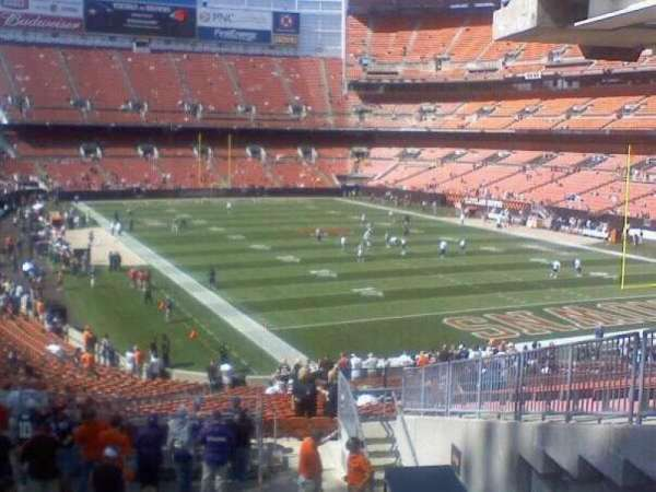FirstEnergy Stadium, secção: End Zone