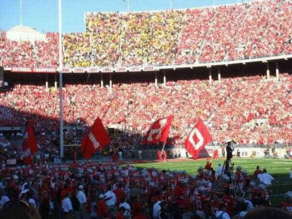 Ohio Stadium, secção: 18AA, fila: 3, lugar: 13