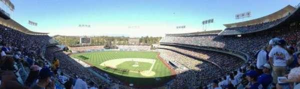 Dodger Stadium, secção: 7RS, fila: F, lugar: 10
