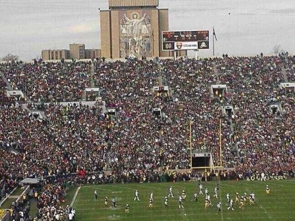 Notre Dame Stadium, secção: 120