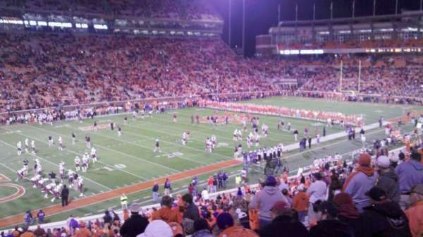 Memorial Stadium, Clemson, secção: K, fila: QQ, lugar: 27