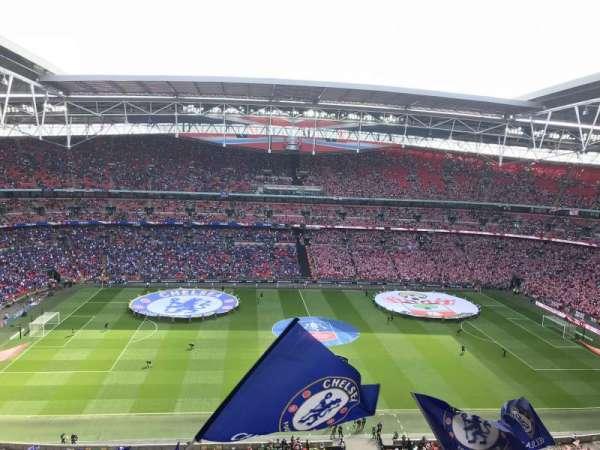 Wembley Stadium, secção: 501, fila: 13, lugar: 30