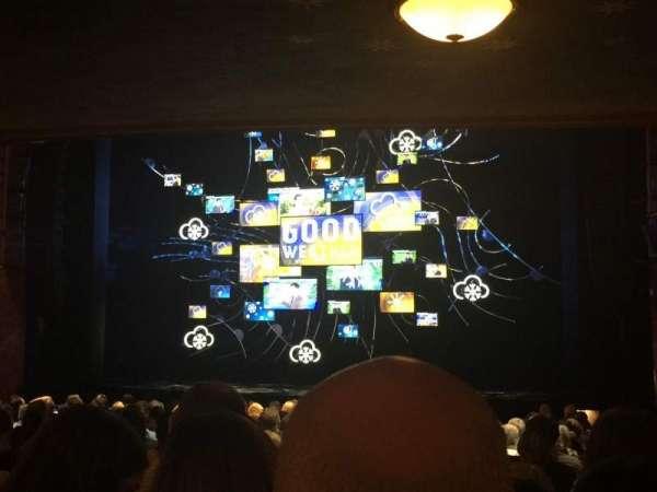August Wilson Theatre, secção: Orchestra R, fila: U, lugar: 4