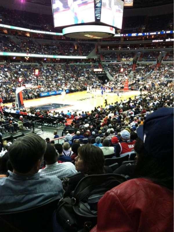 Capital One Arena, secção: 108