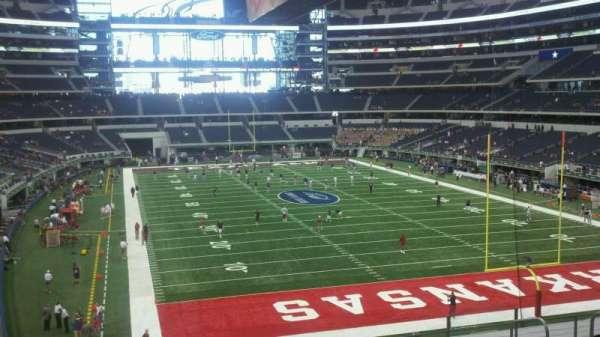 AT&T Stadium, secção: 125, fila: 8, lugar: 1