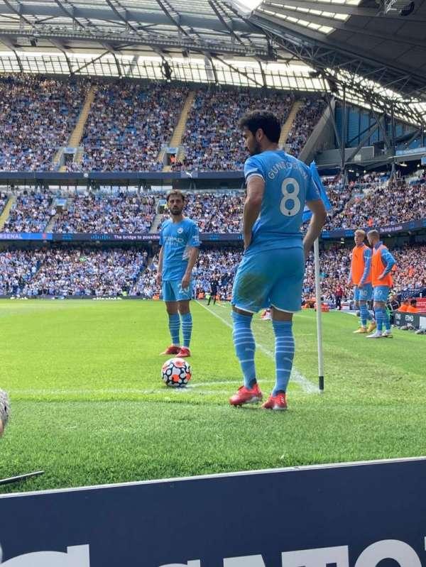 Etihad Stadium (Manchester), secção: 134, fila: 2, lugar: 934