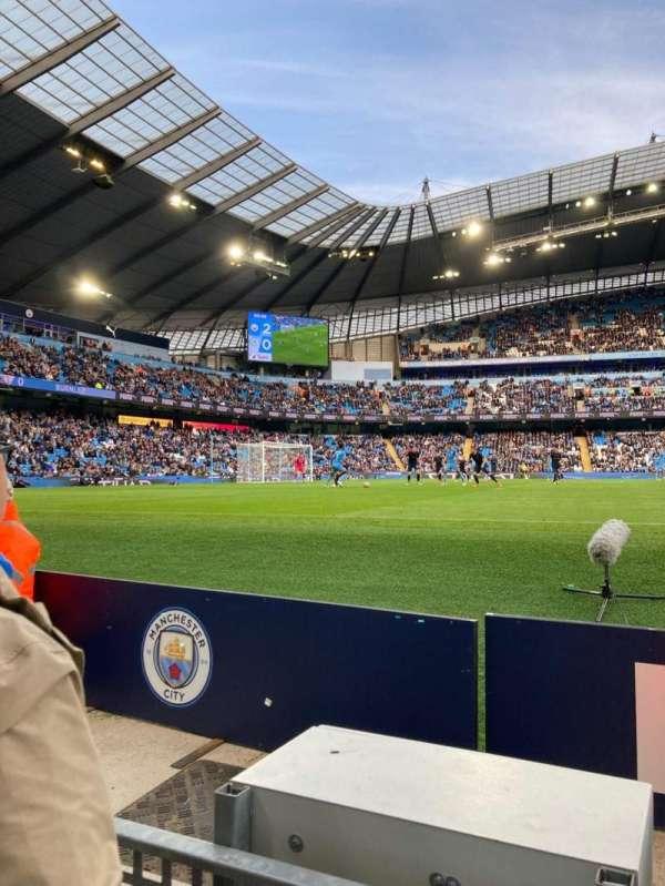 Etihad Stadium (Manchester), secção: 128, fila: 2, lugar: 971