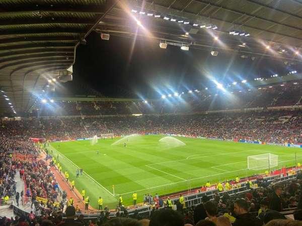 Old Trafford, secção: E232, fila: 26, lugar: 19