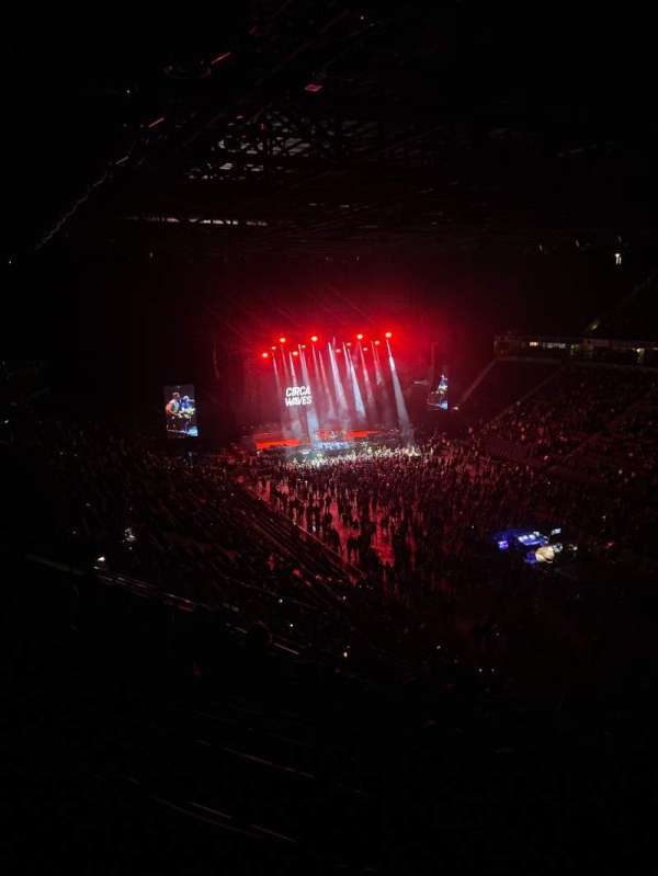 AO Arena, secção: 206, fila: L, lugar: 17