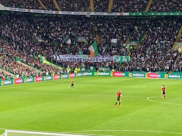 Celtic Park, secção: 139, fila: V, lugar: 8