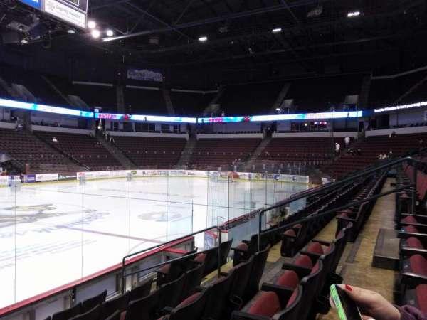 Rabobank Arena, secção: 114, fila: F, lugar: 7