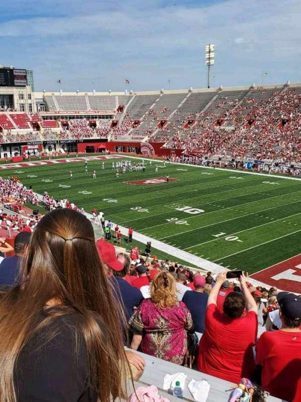 Memorial Stadium (Indiana), secção: 1, fila: 47, lugar: 6