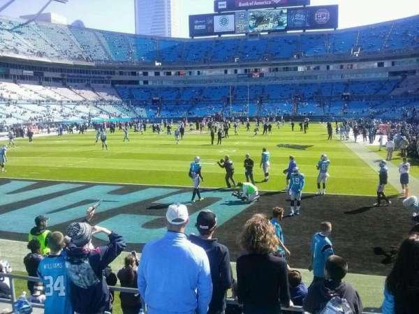 Bank of America Stadium, secção: 139, fila: 17, lugar: 21