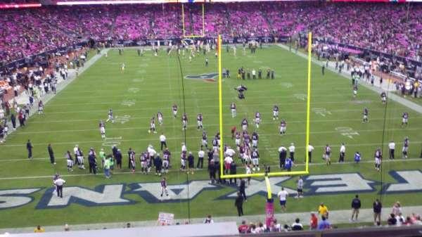 NRG Stadium, secção: 352, fila: C, lugar: 11