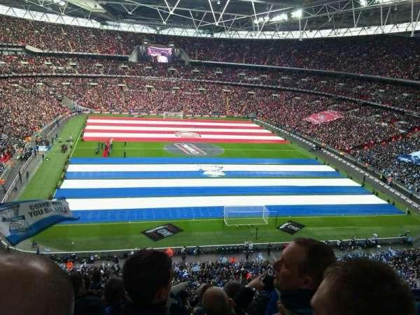 Wembley Stadium, secção: 541, fila: 11, lugar: 47