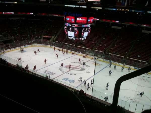 PNC Arena, secção: 302, fila: C, lugar: 2