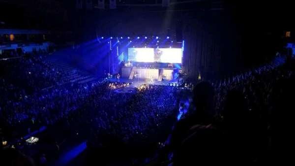 SNHU Arena, secção: 225, fila: c, lugar: 9