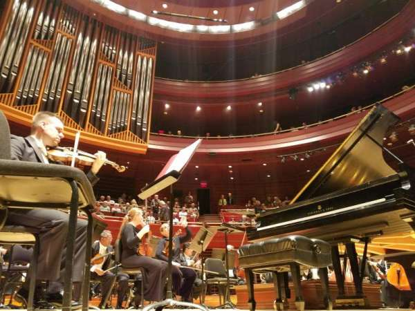 Verizon Hall at the Kimmel Center, secção: Orchestra, fila: B, lugar: 125