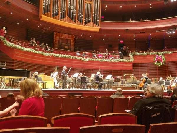Verizon Hall at the Kimmel Center, secção: Orchestra, fila: J, lugar: 13