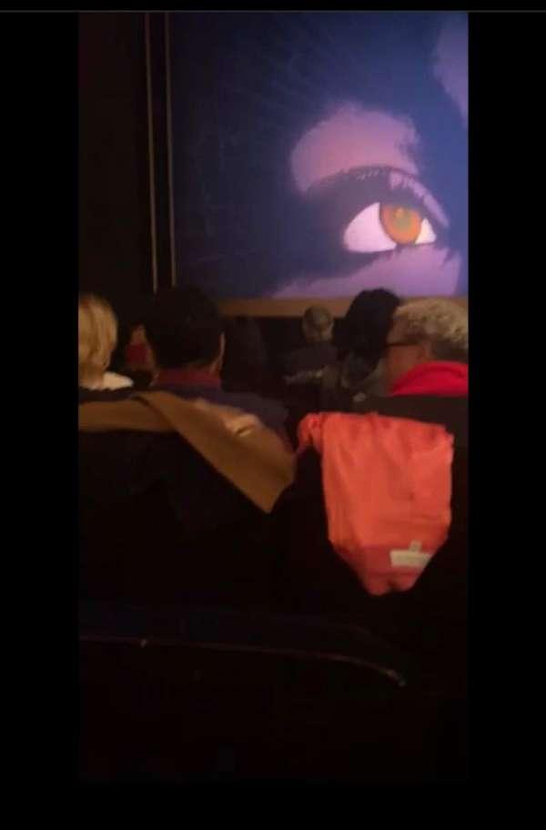 Lunt-Fontanne Theatre, secção: Orchestra L, fila: H, lugar: 13