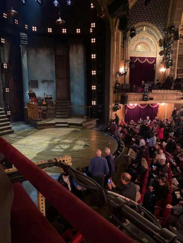 Walter Kerr Theatre, secção: Box B, fila: 1, lugar: 3