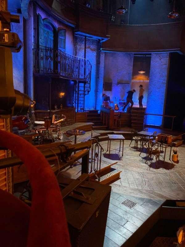 Walter Kerr Theatre, secção: Box B, fila: 1, lugar: 1