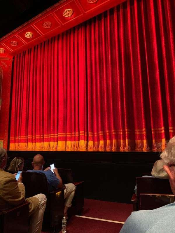 Marquis Theatre, secção: Orchestra R, fila: E, lugar: 2