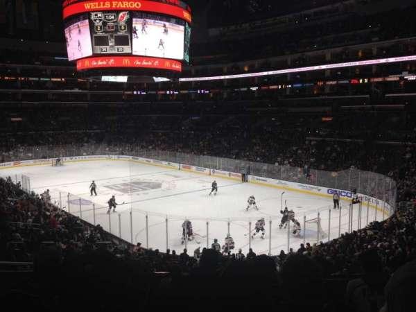 Staples Center, secção: 219, fila: 8, lugar: 7
