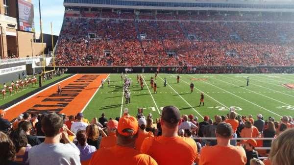 Boone Pickens Stadium, secção: 227, fila: 9, lugar: 13