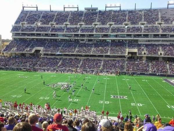Amon G. Carter Stadium, secção: 233, fila: Q