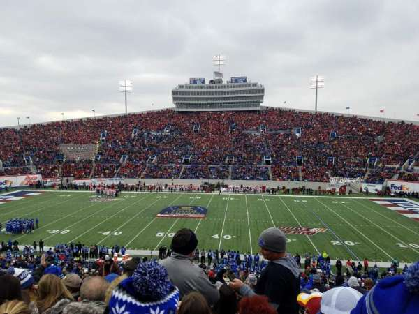 Liberty Bowl Memorial Stadium, secção: 119, fila: 50, lugar: 27