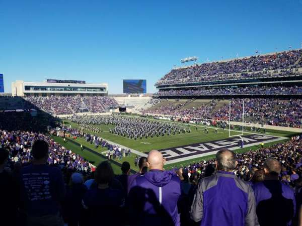 Bill Snyder Family Stadium, secção: 11, fila: 46, lugar: 1