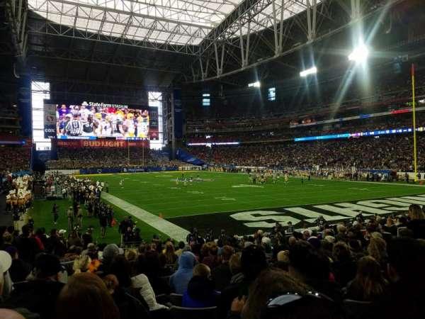 State Farm Stadium, secção: 122, fila: 16, lugar: 18