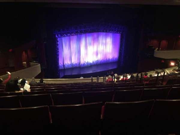 Marquis Theatre, secção: Mezzanine L, fila: M, lugar: 1