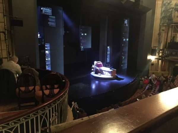 Music Box Theatre, secção: Mezzanine L, fila: A, lugar: 23