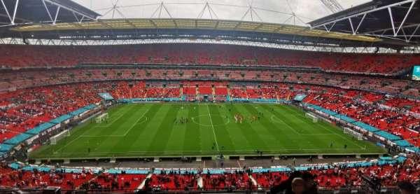 Wembley Stadium, secção: 527, fila: 35, lugar: 11